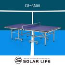 強生CHANSON 標準規格桌球桌CS-6500.乒乓球台22mm板厚桌球檯