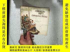 二手書博民逛書店storms罕見on the chinkiang docks長江