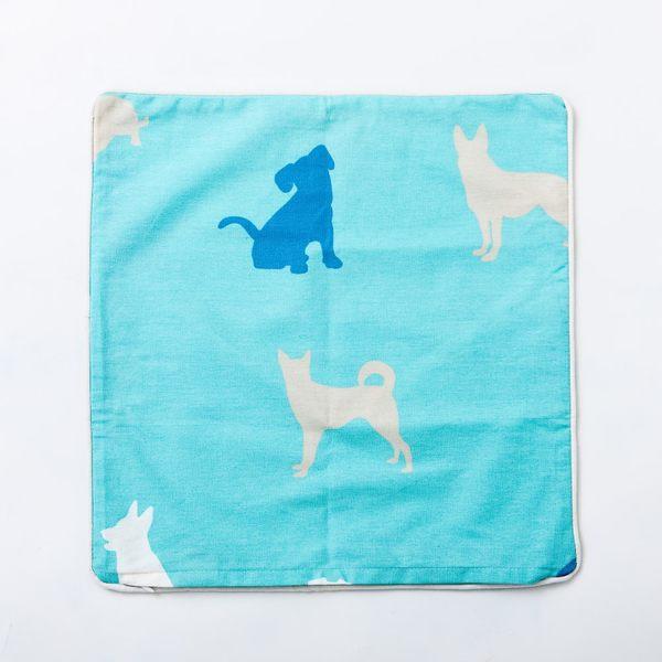 紳士犬抱枕套-生活工場