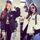 夾克外套 韓版休閒  飛行棒球 紐約周