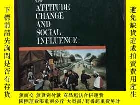 二手書博民逛書店The罕見Psychology Of Attitude Change And Social Influence
