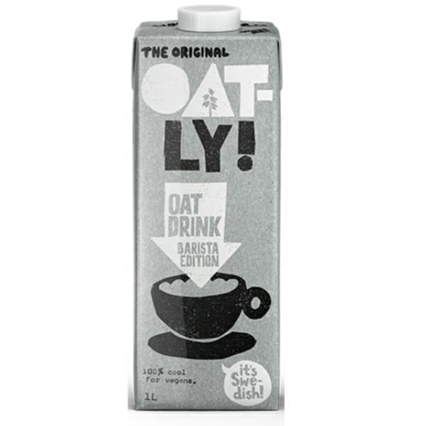 【瑞典Oatly】咖啡師燕麥奶(1000ml) 全素-清新自在