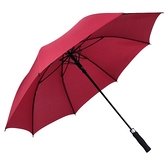 大雨傘超大號雙人商務長柄雨傘加厚抗風酒店迎賓傘直柄纖維骨雨傘 時尚芭莎