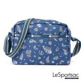 LeSportsac - Standard側背隨身包(節慶/藍) 2434P F098
