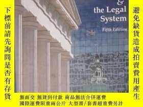 二手書博民逛書店Introduction罕見to Law and the Leg