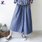 【三折特賣】American Bluedeer - 牛仔休閒寬褲(特價) 秋冬新款