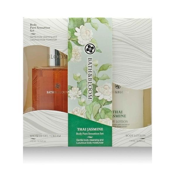 【南紡購物中心】Bath & Bloom 泰國茉莉沐浴潤膚禮盒組