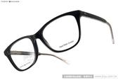 TOMMY HILFIGER 眼鏡 TH1234 Y6C (黑-透明) 歐美名品活力簡約款 # 金橘眼鏡