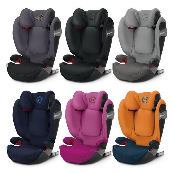 Cybex Solution S-FIX 安全座椅/汽座 2019新色 (6色可選)【總代理公司貨】