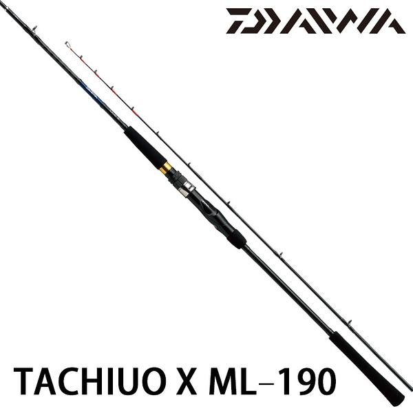 漁拓釣具 DAIWA TACHIUO X ML-190 [船釣竿]