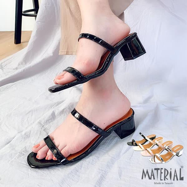 跟鞋 雙細帶方頭跟鞋 MA女鞋 T3599
