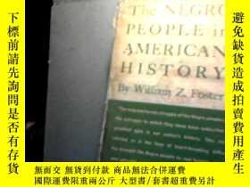 二手書博民逛書店THE罕見NEGRO PEOPLE AMERICA HISTOR