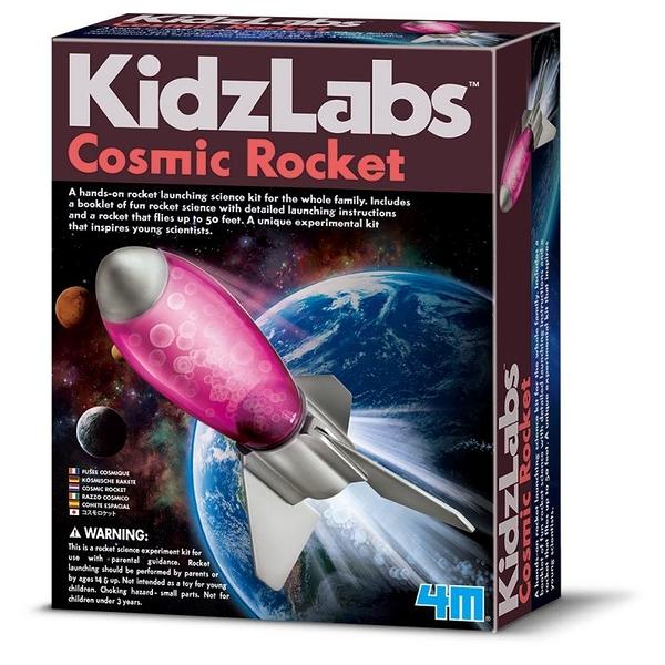 氣動式火箭組 Cosmic Rocket 準備發射飛彈