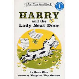 〈汪培珽英文書單〉An I Can Read系列  HARRY AND THE LADY NEXT DOOR L1