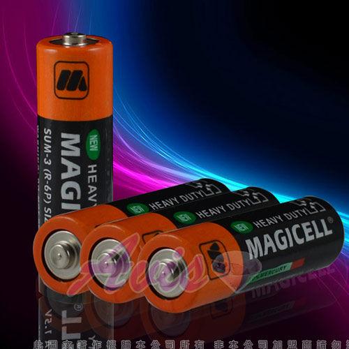 全新無敵 MAGICELL三號電池 SUM-3(R-6P)SIZE AA 1.5V-四入