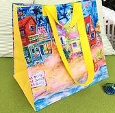 防水袋 手提旅行收納大袋子防水便攜小包防水包女折疊購物袋【快速出貨八折促銷】