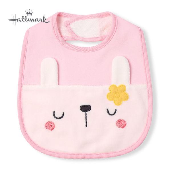 Hallmark Babies 防滲漏兔子造型女嬰圍兜 HH3-N02-A5-AG-MR
