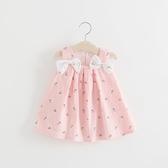 女童連身裙夏季兒童小女孩背心裙子0一1-3歲嬰兒女寶寶夏裝公主裙