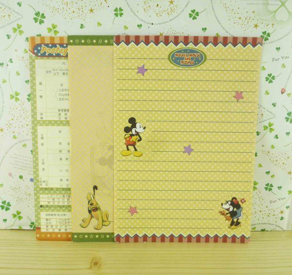 【震撼精品百貨】Micky Mouse 米奇/米妮 ~便條-咖啡黃條顏色