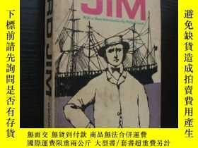 二手書博民逛書店LORD罕見JIM 《吉姆老爺》 1962年美國印製出版。Y14