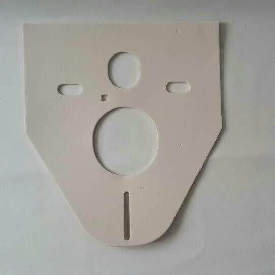 【 麗室衛浴】GEBERIT 156.050.00.1隱蔽式水箱配件 消音墊 適用於壁掛馬桶安裝用