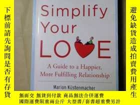 二手書博民逛書店How罕見to Simplify Your Love 如何簡化你