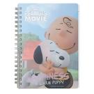 《sun-star》SNOOPY-史努比 The Peanuts Movie系列B6線圈筆記本(幸福抱抱)★funbox生活用品★_OP47799