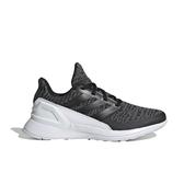 Adidas RapidaRun KNIT J [D97002] 大童鞋 運動 慢跑 休閒 緩震 舒適 透氣 愛迪達 灰