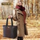 【TROOP】經典品格CLASSIC手提包/TRP0368BK(黑色)