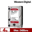WD40EFRX 紅標Plus 4TB ...