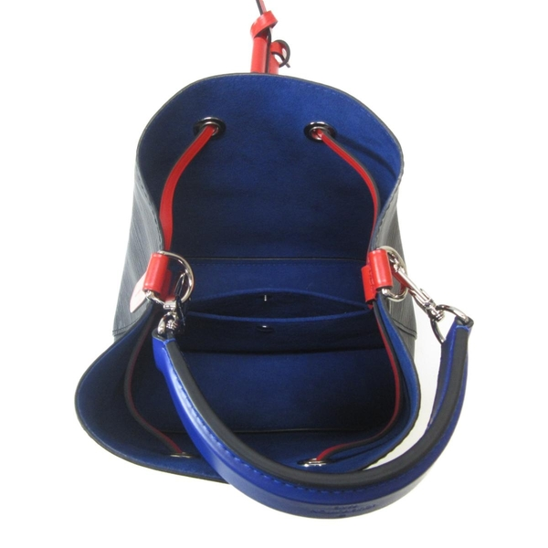 LOUIS VUITTON LV 路易威登 黑色EPI水波紋肩背包 水桶包 NeoNoe BB M52853 BRAND OFF