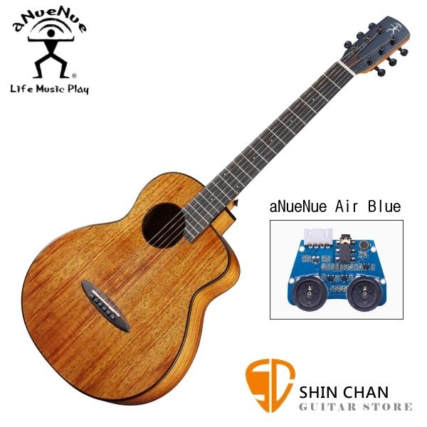 aNueNue M32E 單板 相思木 36吋 可插電 民謠吉他 / 旅行吉他 BABY吉他/鳥吉他 附多樣配件