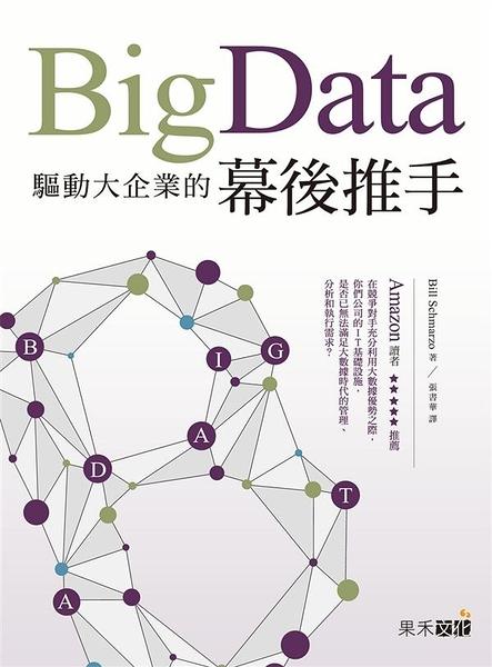 (二手書)Big Data:驅動大企業的幕後推手