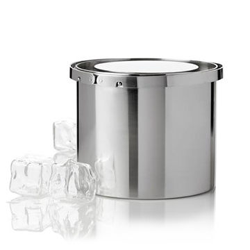丹麥 Stelton Cylinda-Line AJ Ice Bucket 不鏽鋼 冰桶(小尺寸)