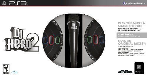 PS3 DJ Hero 2 Party Bundle DJ 英雄 2(美版代購)
