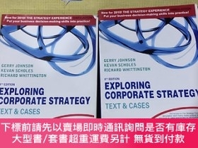 二手書博民逛書店EXPLORING罕見CORPORATE STRATEGYY408729 TEXT&CASES 不祥