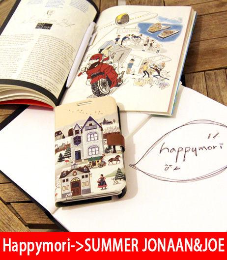 【韓國正品原裝 Happymori】※Fairy tale book※ 高質感側開手機皮套 Galaxy S4 i9500 專用