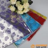 透明塑料包裝紙鮮花包花紙印花透明紙材料超級品牌【桃子居家】