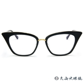DITA 頂級眼鏡品牌 貓眼框眼鏡 REBELLA DRX-3031-A 黑-金 久必大眼鏡