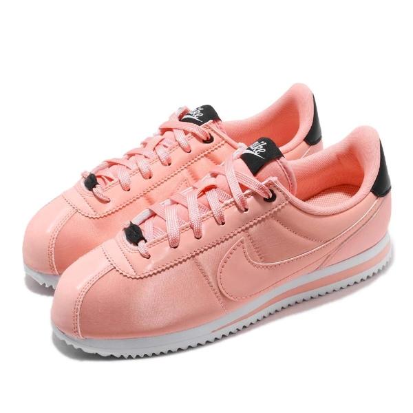 【五折特賣】Nike 阿甘鞋 Cortez Basic TXT VDAY 情人節限定款 粉紅 白 女鞋 大童鞋 【ACS】 AV3519-600
