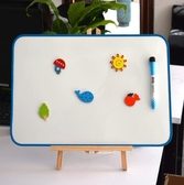 兒童大號畫畫板磁性雙面寫字板玩具繪畫涂鴉【時尚大衣櫥】