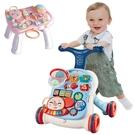 兒童玩具 音樂學步車學習桌 推車防側翻可變桌台 投球 鋼琴音樂拍拍鼓-JoyBaby