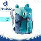 【Deuter 德國 Kikki 6L 動物造型輕量透氣兒童背包《藍/深藍》】3610519/雙肩背包/後背包/上學