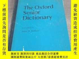 二手書博民逛書店The罕見oxford senior dictionaryY15