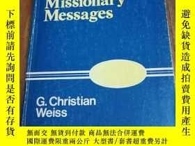 二手書博民逛書店Outlines罕見For Missionary Message