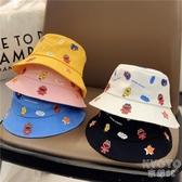 兒童帽子夏防曬春秋季薄款嬰兒漁夫帽女寶寶男童遮陽帽可愛超萌潮 京都3C