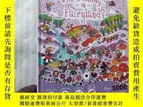 二手書博民逛書店WHO S罕見HIDING IN Fairyland 大16開
