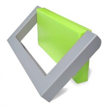 日本Belca磁吸式毛巾架-綠