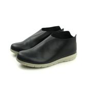 HUMAN PEACE 懶人鞋 休閒鞋 皮質 黑色 女鞋 BB133 no588