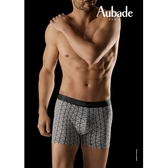 Aubade man-舒棉M-XL平口褲(迷宮)